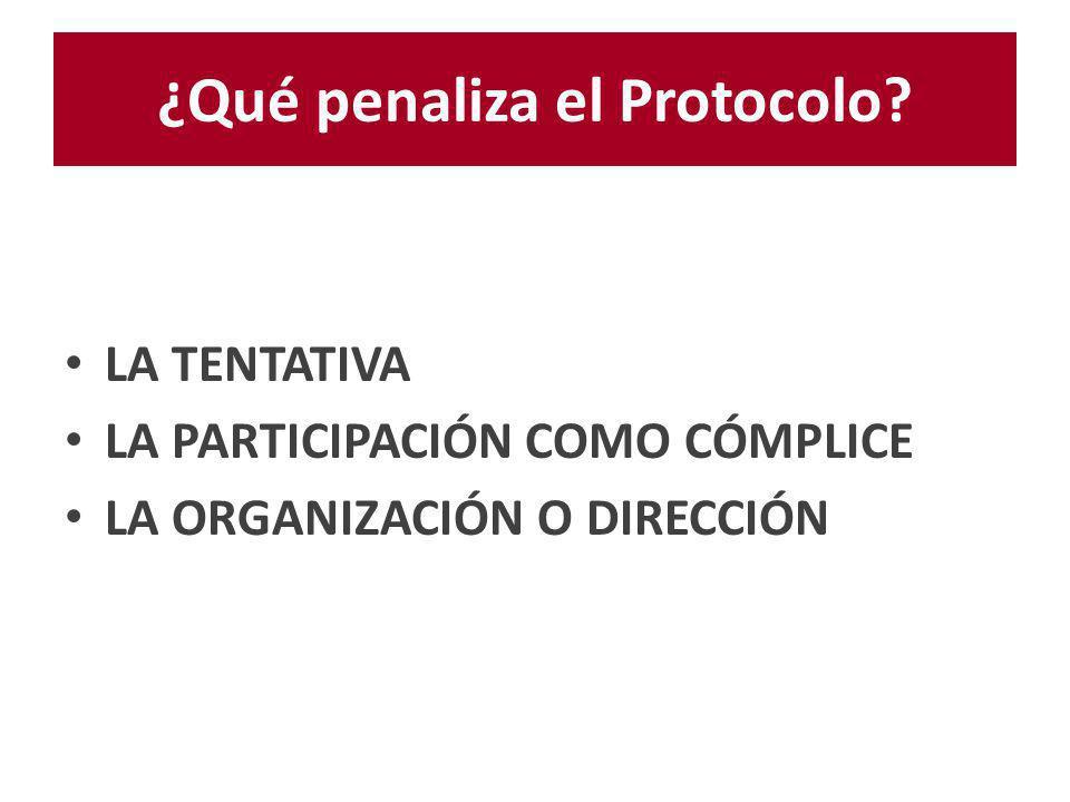 LEGISLACIÓN ARGENTINA Año 2000 Firma del protocolo Año 2002 Ratifica el protocolo Año 2008 Ley de Prevención y Sanción de la Trata de Personas y Asistencia a sus Víctimas de Trata.