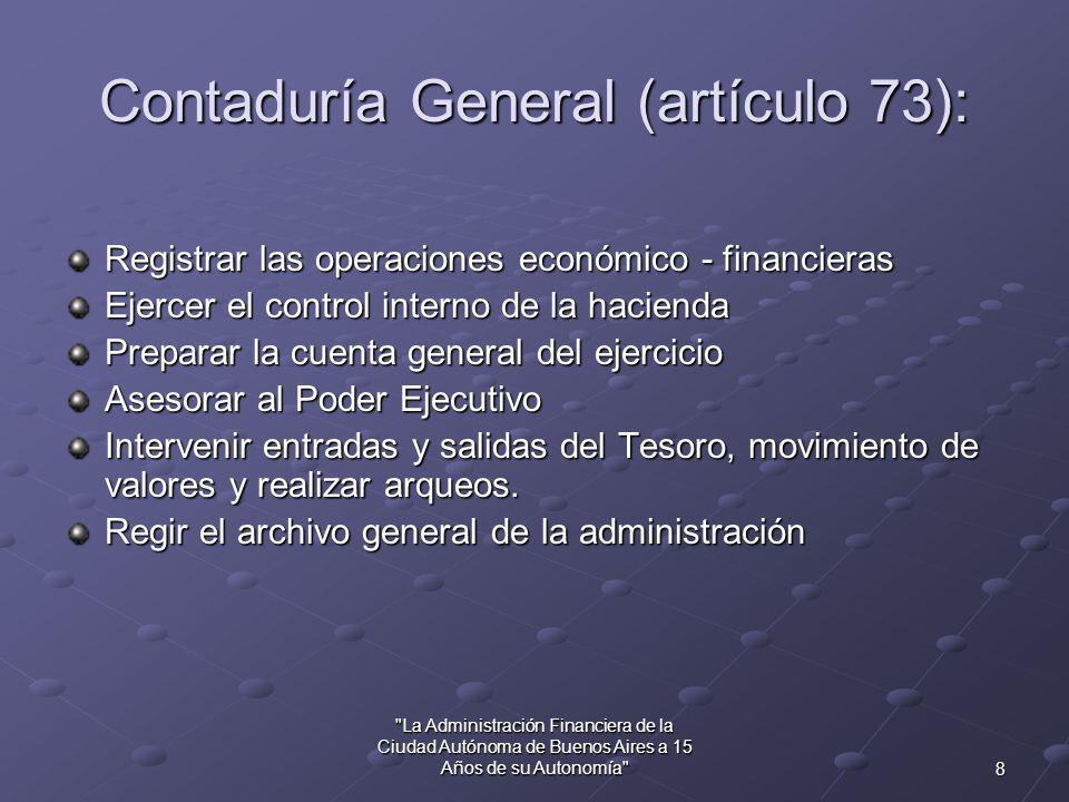 7 La Administración Financiera de la Ciudad Autónoma de Buenos Aires a 15 Años de su Autonomía Ley de Contabilidad (D.