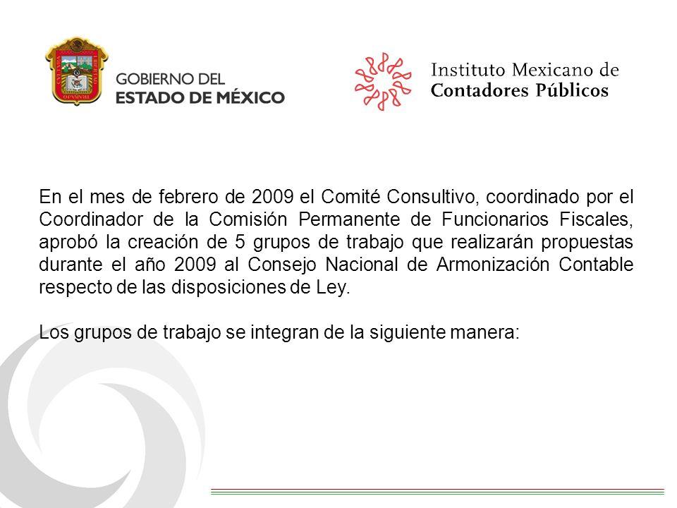 En el mes de febrero de 2009 el Comité Consultivo, coordinado por el Coordinador de la Comisión Permanente de Funcionarios Fiscales, aprobó la creació