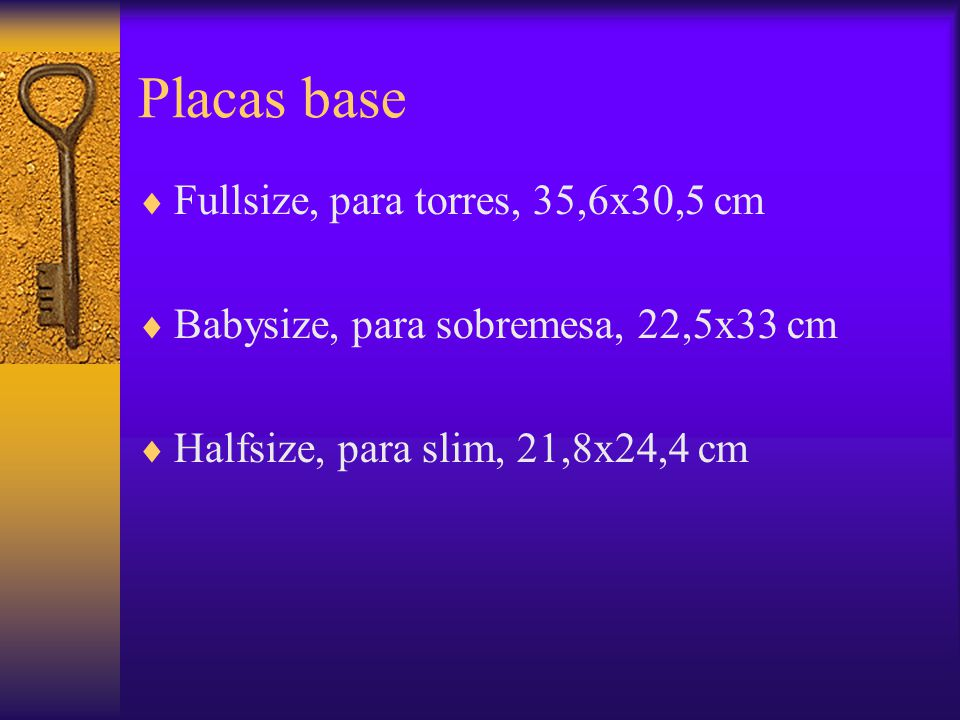 Placas base ATX