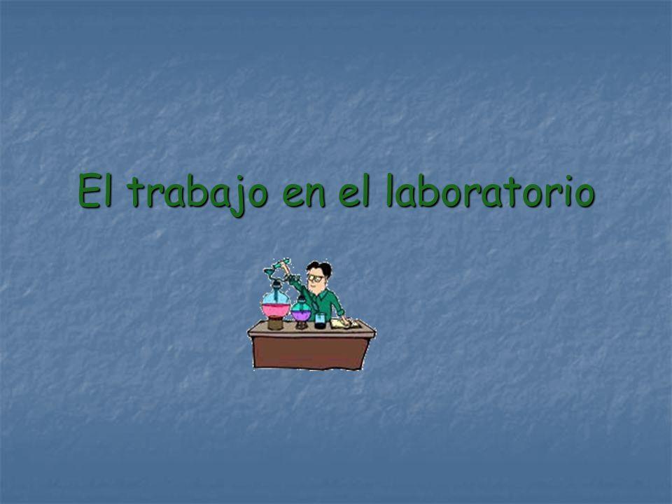 El trabajo en el Laboratorio requiere la observación de una serie de normas de de seguridad que eviten posibles accidentes.