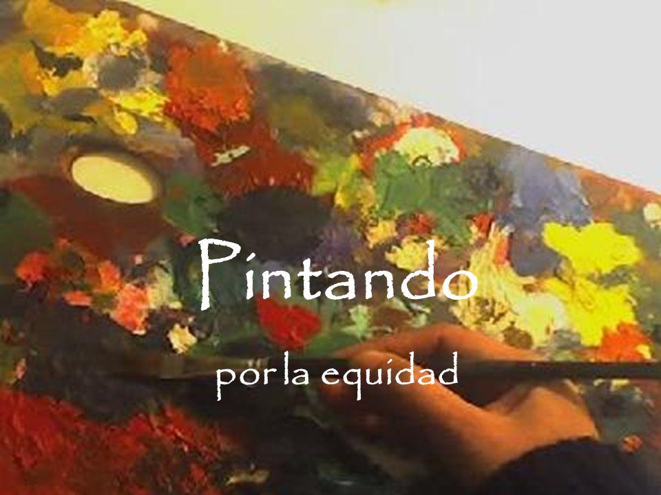 Pintando por la equidad Home Quienes Somos Talleres Arte Terapia Donaciones Contactate.
