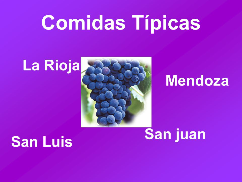 Comidas Típicas La Rioja San Luis Mendoza San juan