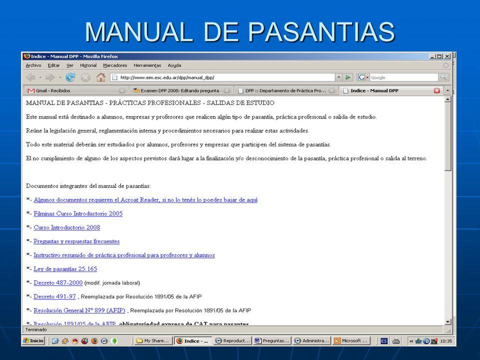 MANUAL DE PASANTIAS