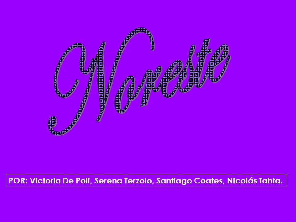 POR: Victoria De Poli, Serena Terzolo, Santiago Coates, Nicolás Tahta.