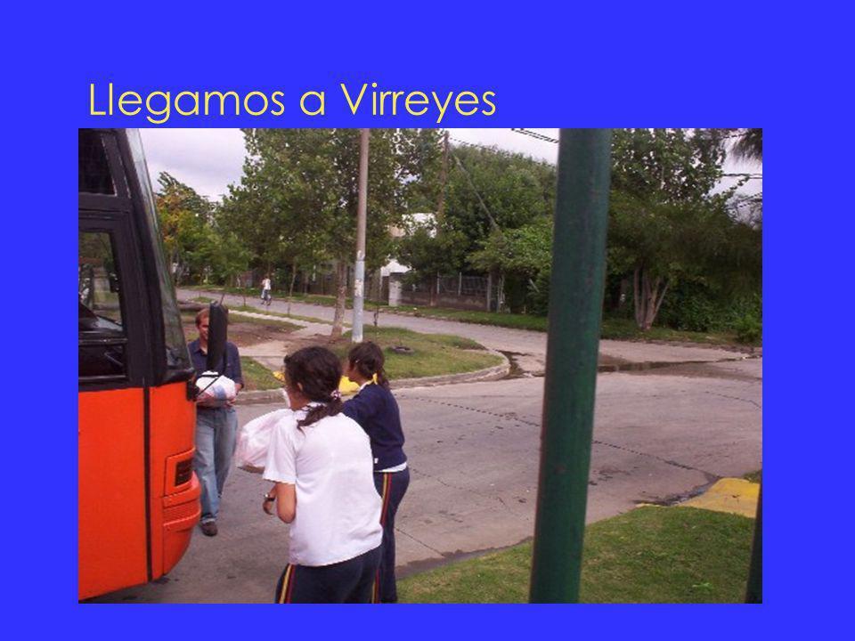 Llegamos a Virreyes