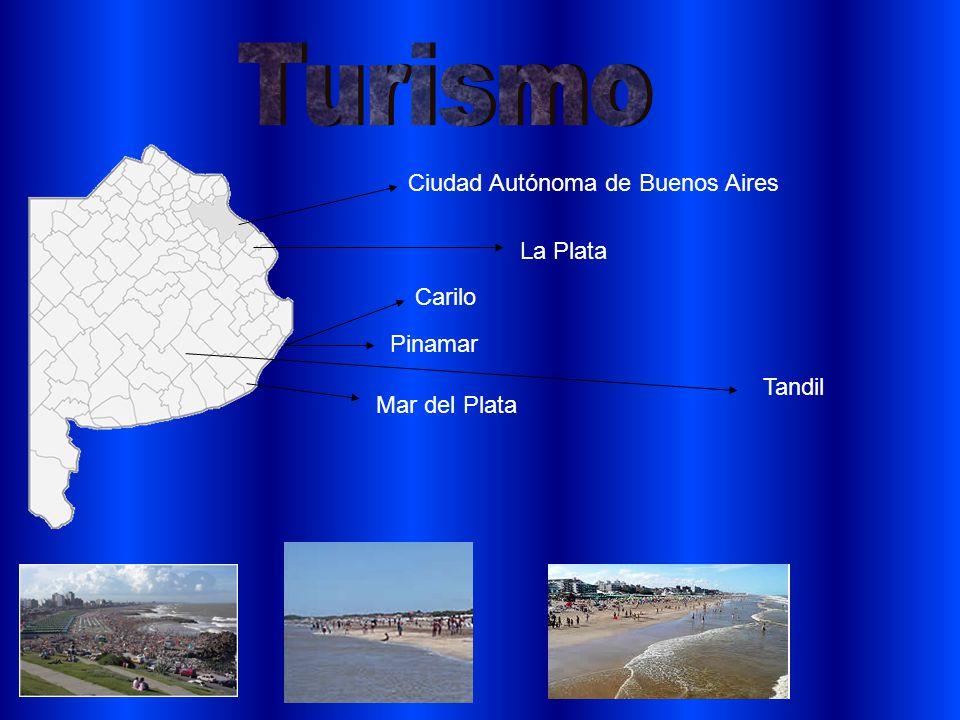 La Plata Mar del Plata Ciudad Autónoma de Buenos Aires Pinamar Carilo Tandil