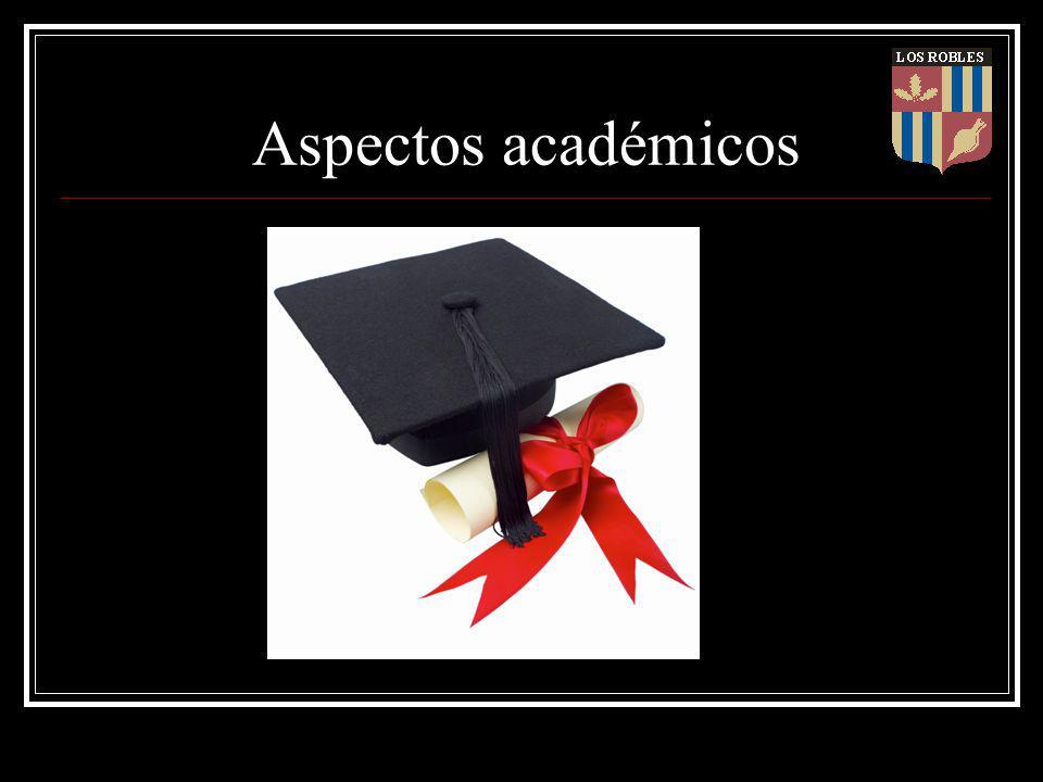 Aspectos académicos