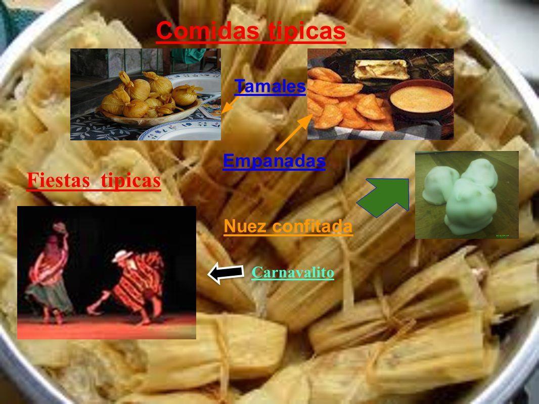 Comidas tipicas Empanadas Tamales Nuez confitada Fiestas tipicas Carnavalito
