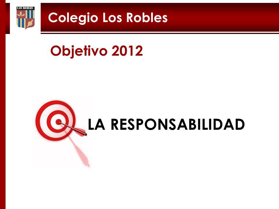 3 LA RESPONSABILIDAD Objetivo 2012
