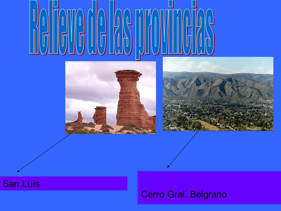 Cerro Gral. Belgrano San Luís