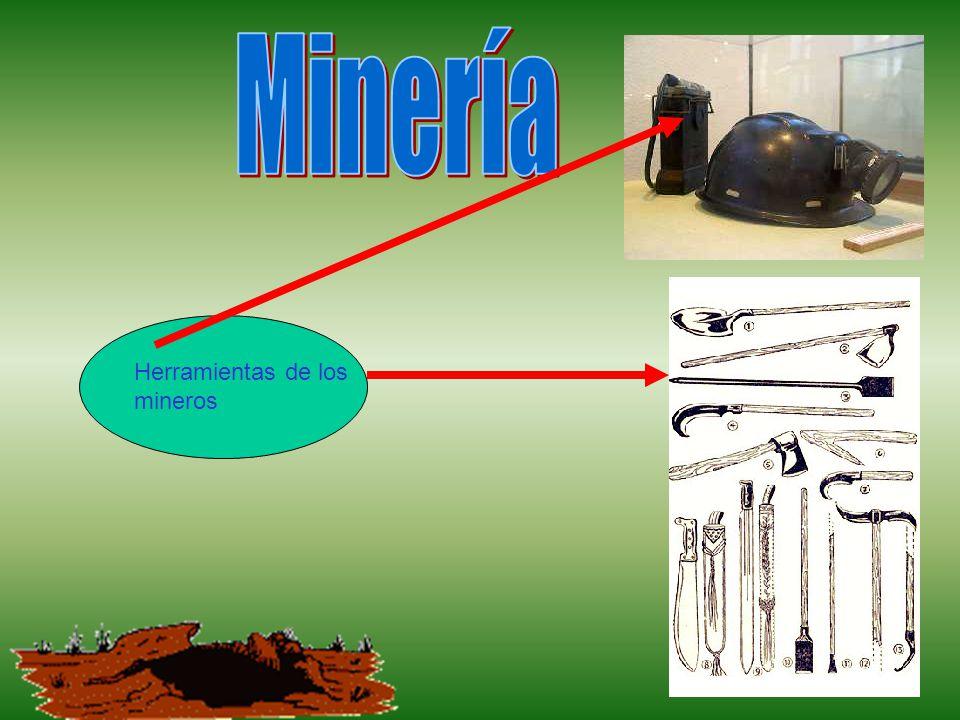 Herramientas de los mineros