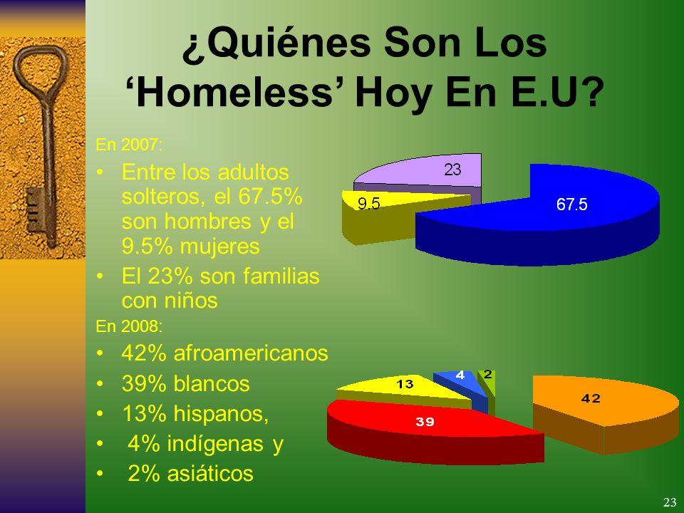 23 ¿Quiénes Son Los Homeless Hoy En E.U.
