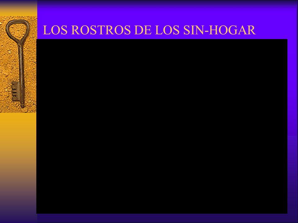 LOS ROSTROS DE LOS SIN-HOGAR