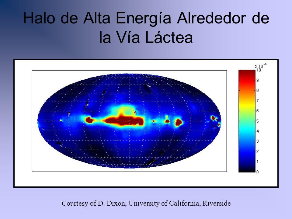 Halo de Alta Energía Alrededor de la Vía Láctea Courtesy of D. Dixon, University of California, Riverside