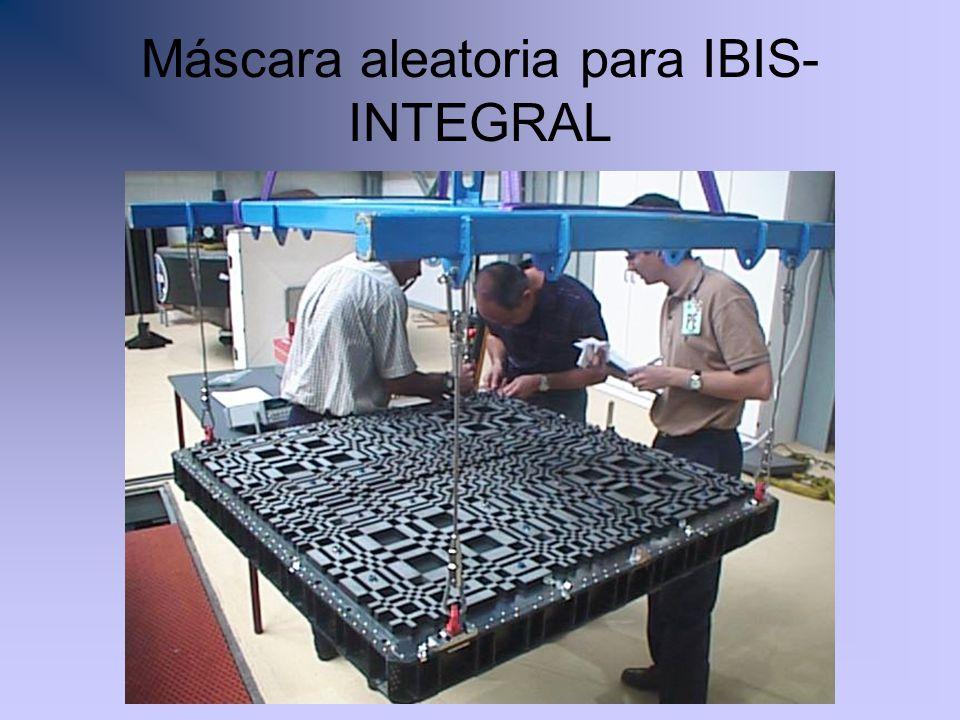 Máscara aleatoria para IBIS- INTEGRAL
