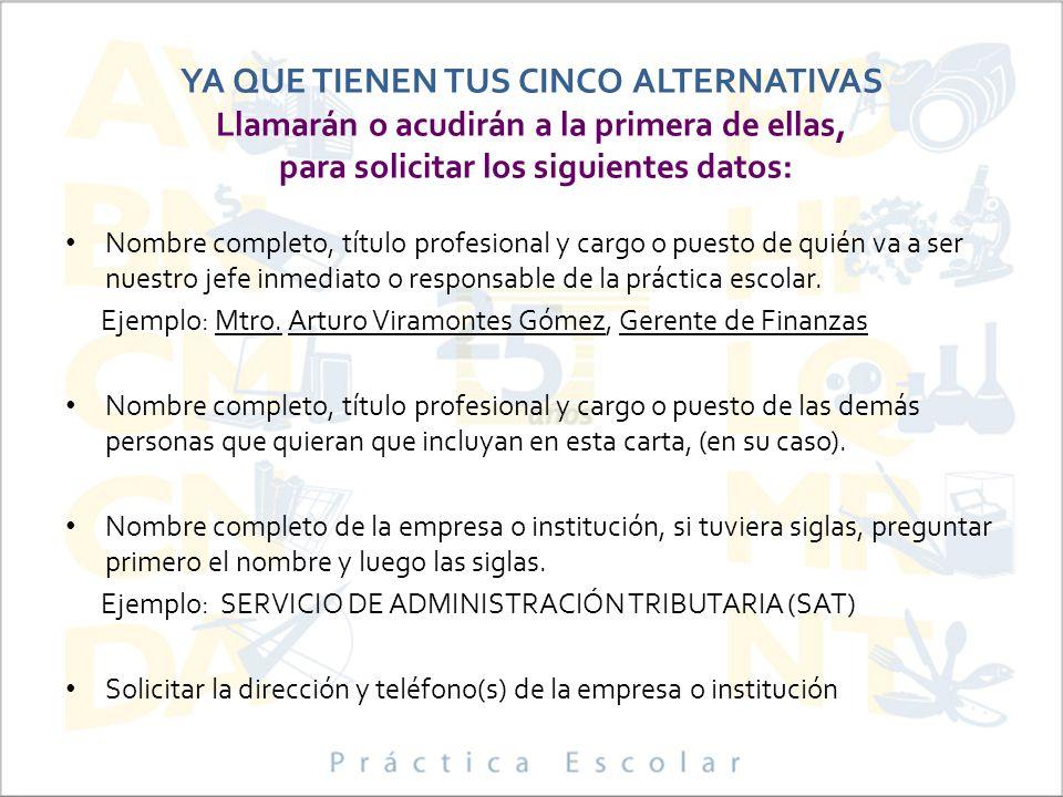 PARA RECIBIR DOCUMENTOS DE EGRESO EN CEREMONIA: Deberán haber realizado su práctica escolar.
