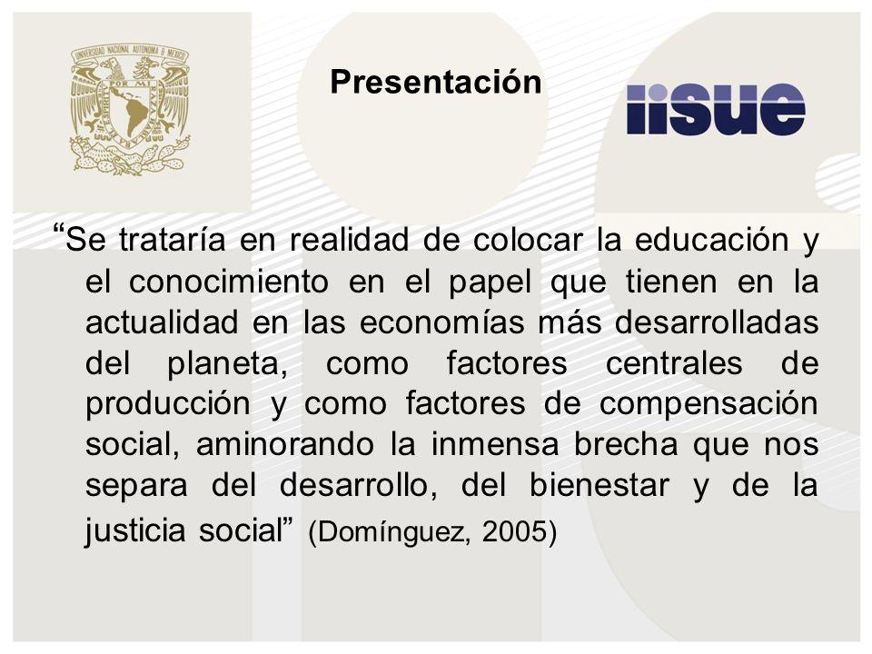 Temas Centrales A) Rasgos y retos de la situación actual B) Retos y posibilidades en el desarrollo curricular