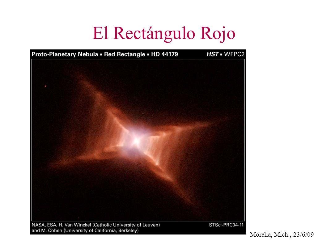 Morelia, Mich., 23/6/09 El Rectángulo Rojo