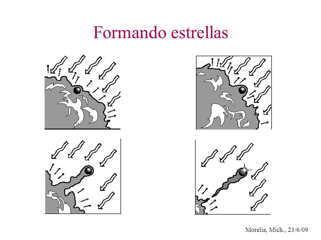 Morelia, Mich., 23/6/09 Formando estrellas