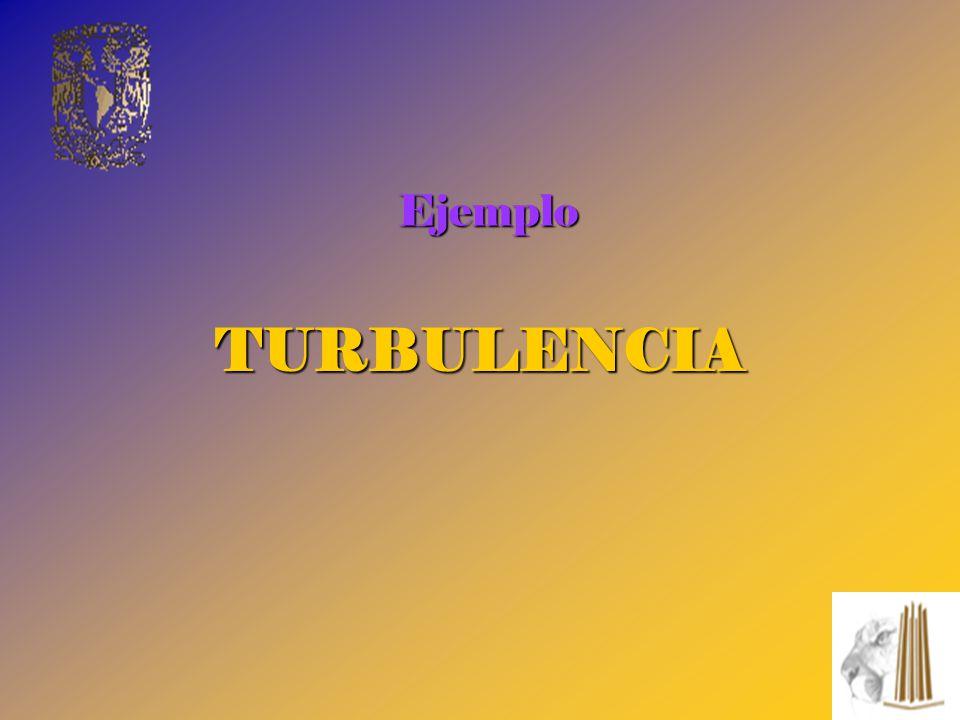 Ejemplo TURBULENCIA