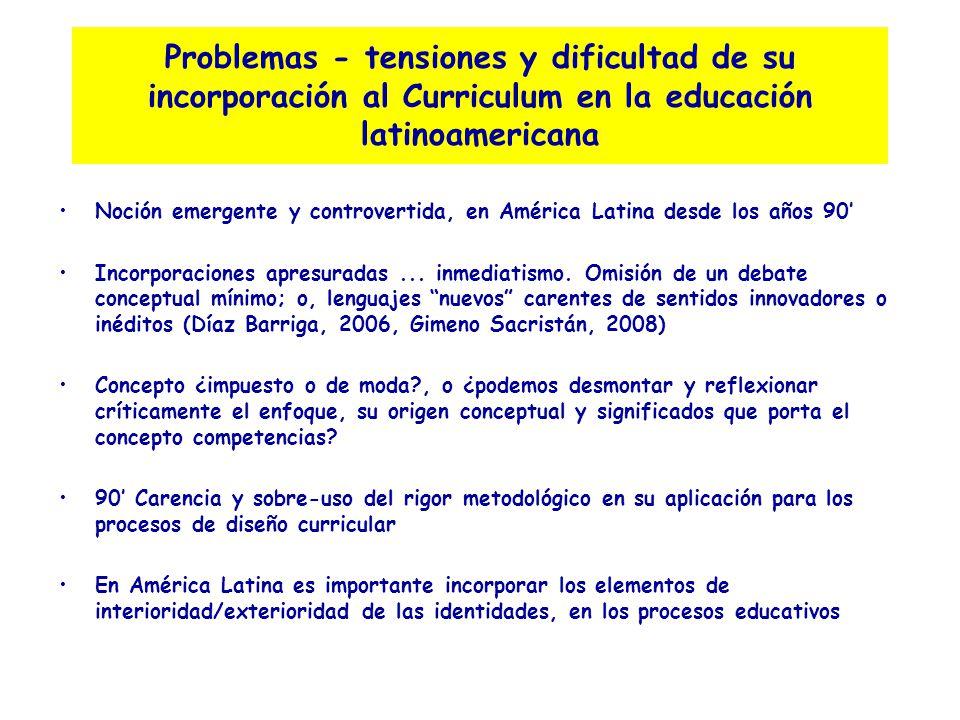 Un posicionamiento y perspectiva desde América Latina (Línea de propuesta o en búsqueda de alternativas)
