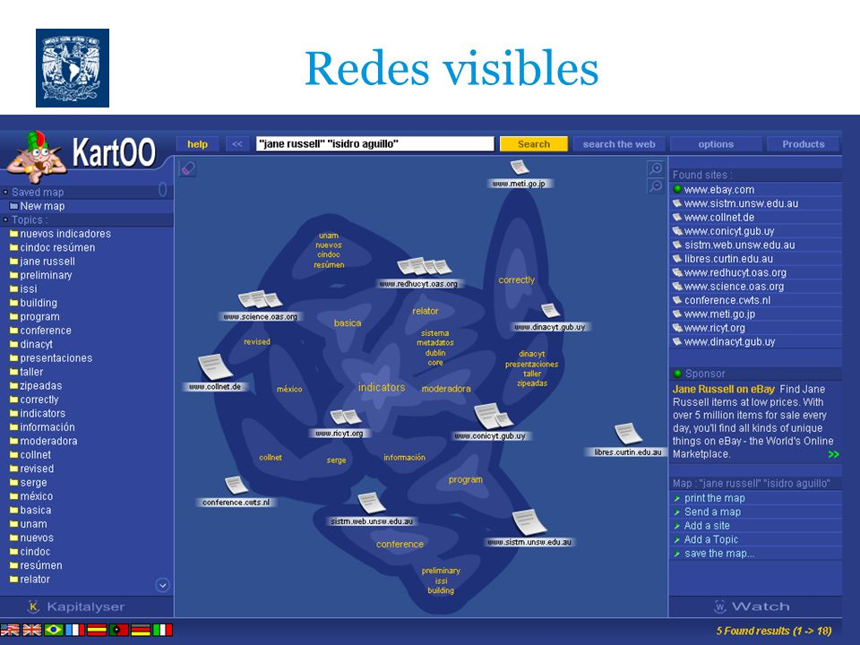 Redes visibles