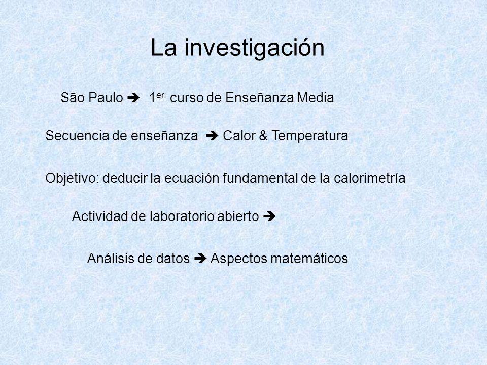 La investigación São Paulo 1 er.