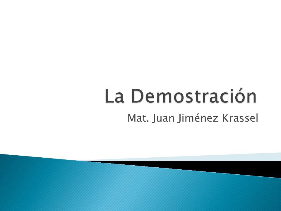 Mat. Juan Jiménez Krassel