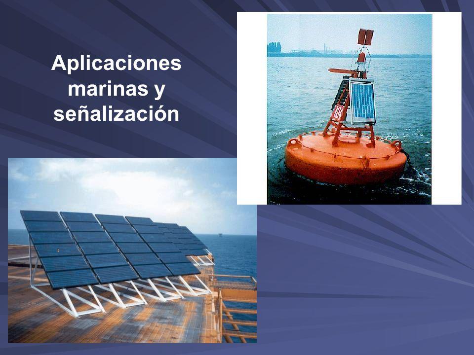 Aplicaciones marinas y señalización