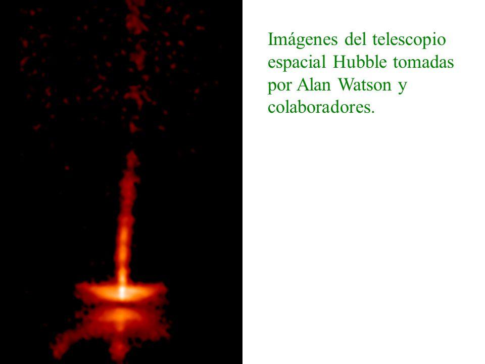 Imágenes del telescopio espacial Hubble tomadas por Alan Watson y colaboradores.