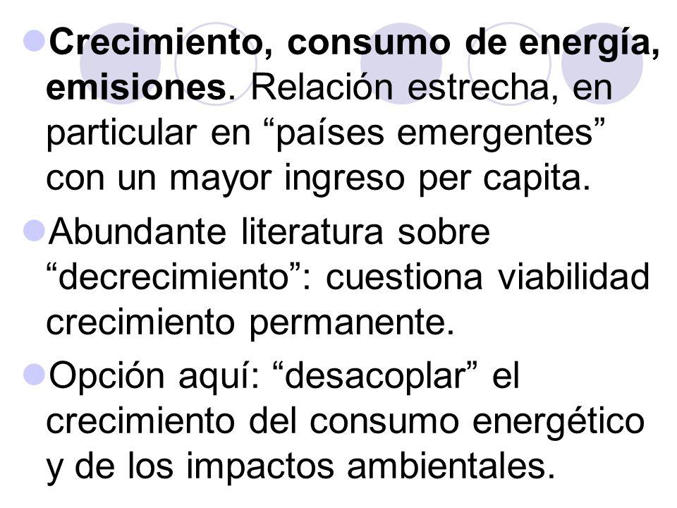 Restricciones y posibilidades paracrecimiento verde, senderos de crecimiento de bajo carbono...