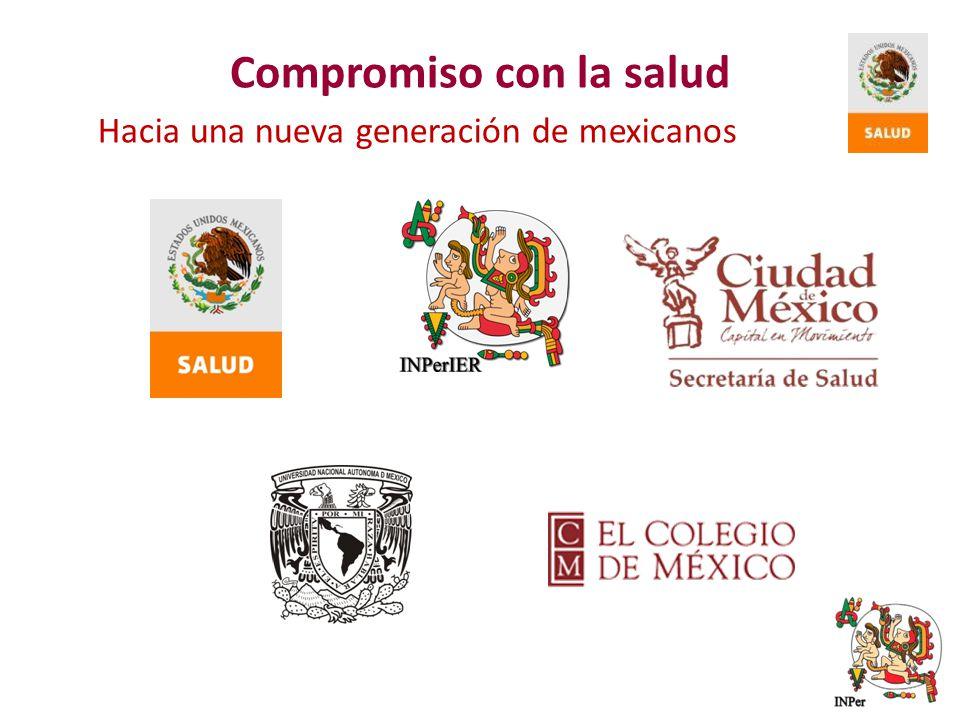 Hacia una nueva generación de mexicanos Compromiso con la salud