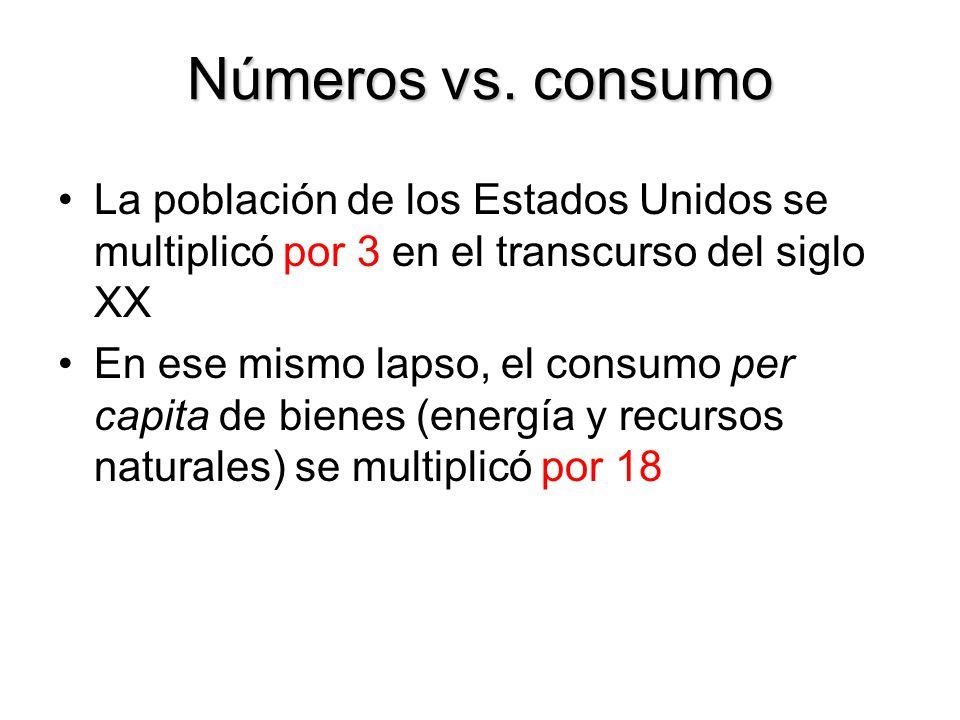 Números vs.