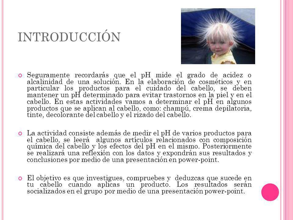 REFERENCIAS Imágenes Anónimo, sin título, ca, http://www.hairfinder.com/es/preguntas/anatomia-cabello.gif.