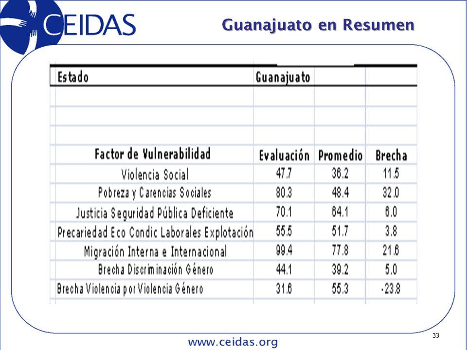 33 Guanajuato en Resumen