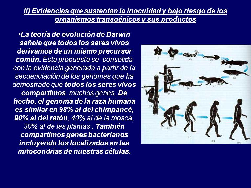 La teoría de evolución de Darwin señala que todos los seres vivos derivamos de un mismo precursor común.