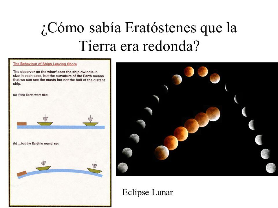 Esto ocurre porque la Tierra no es plana, sino redonda… (Suponemos que los rayos del Sol llegan paralelos a la Tierra por la lejanía entre ambos cuerp