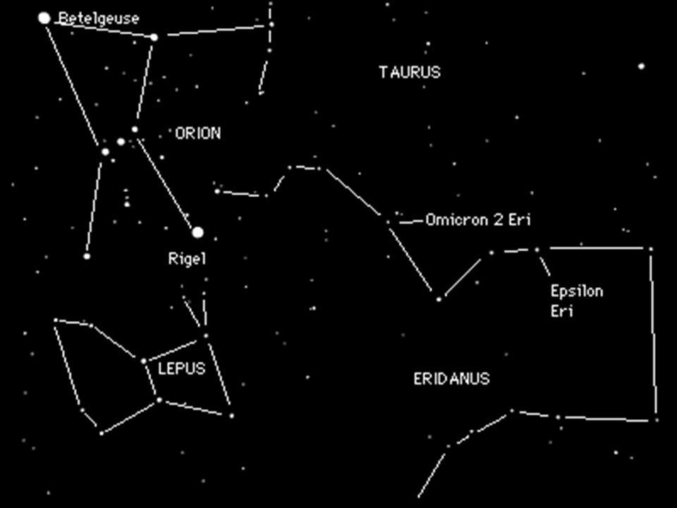Paralaje Estelar Conforme la Tierra se mueve de un lado a otro del Sol (seis meses), las estrellas cercanas parecen cambiar su posición respecto a las