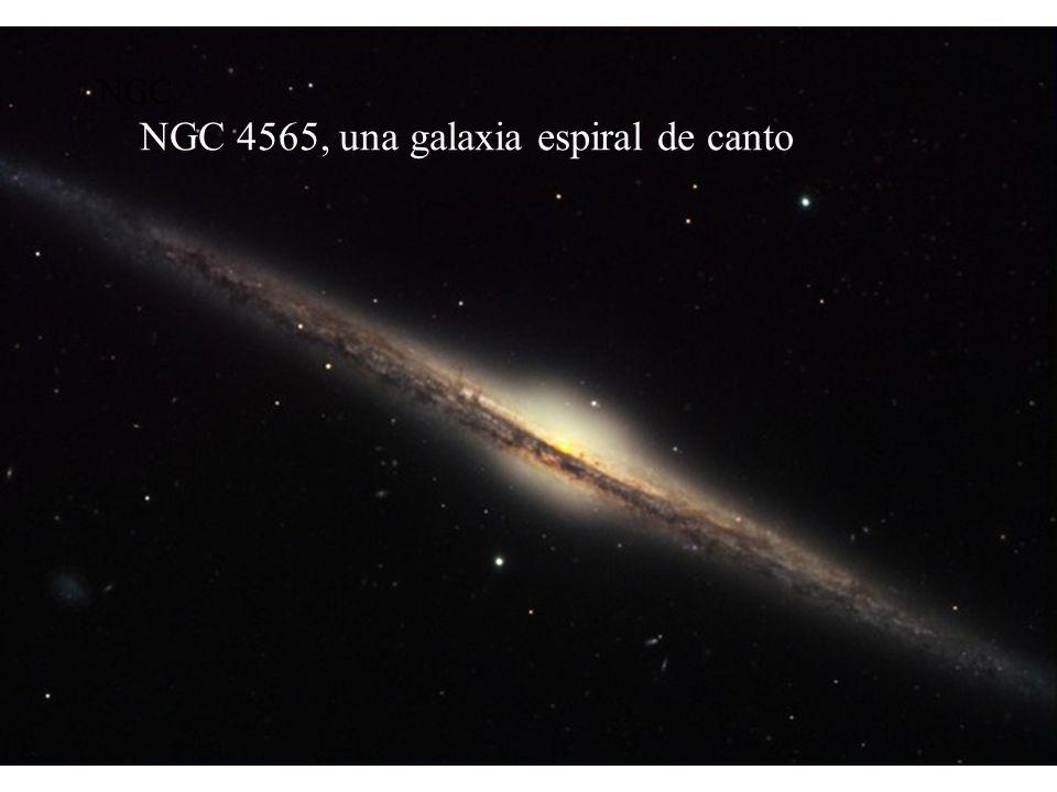 Supernovas tipo Ia SN1994D en NGC4526 en el Cúmulo de Virgo (15 Mpc) Se cree que todas alcanzan la misma luminosidad pico, por lo tanto, son una cande