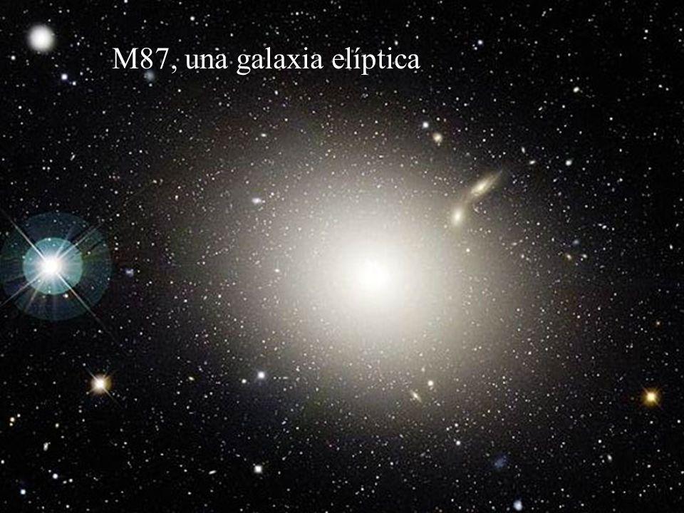 Las galaxias Conglomerados de estrellas, gas y polvo con dimensiones de cientos de miles de años-luz. Llegan a contener hasta un billón de estrellas.