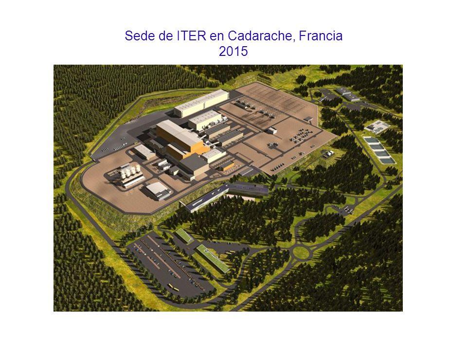 Sede de ITER en Cadarache, Francia 2015