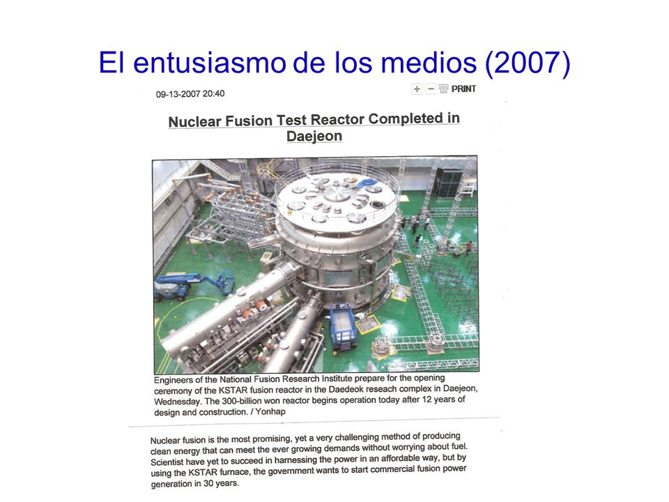 El entusiasmo de los medios (2007)