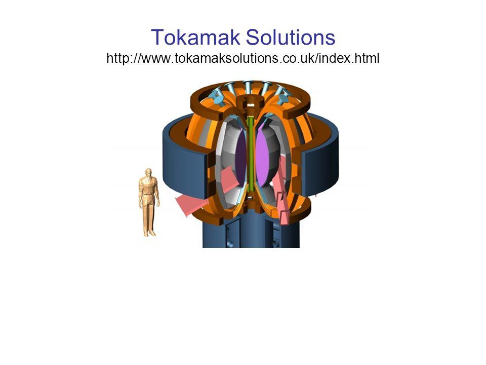 Tokamak Solutions http://www.tokamaksolutions.co.uk/index.html
