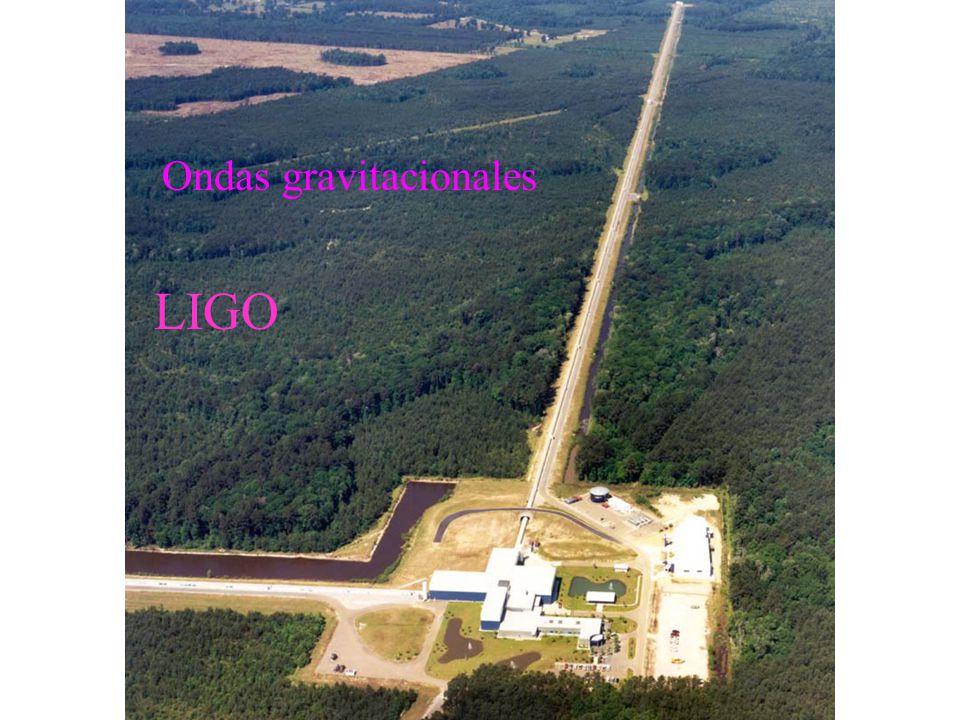 Ondas gravitacionales LIGO