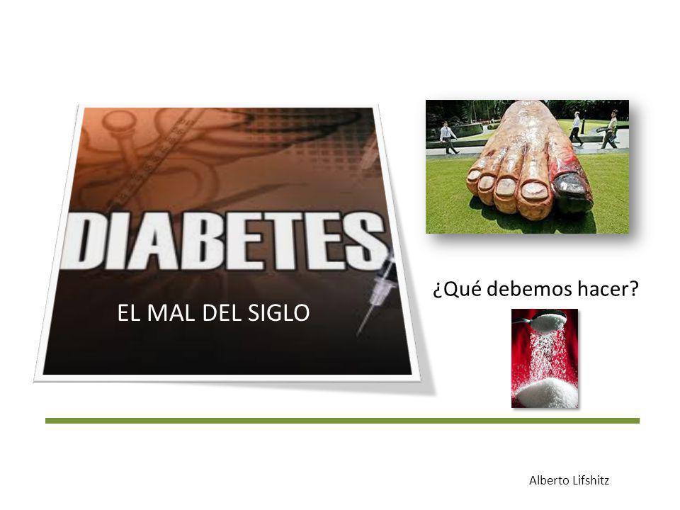 Prevalencia de Diabetes tipo 2 (según la ENSANUT 2006) Salud Pública de México 2010;52 suppl 1:519-26 Según la región RegiónPreviamente diagnosticada Hallazgo de encuesta Total Norte6.2%6.5%12.7% Centro7.1%7.7%14.9% Centro- occidente 10.2%8.1%18.3% Sur sureste5.7%5.4%11.20%