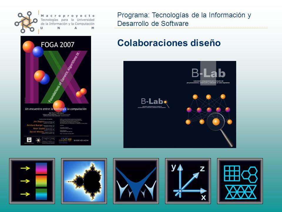 Programa: Tecnologías de la Información y Desarrollo de Software Colaboraciones diseño