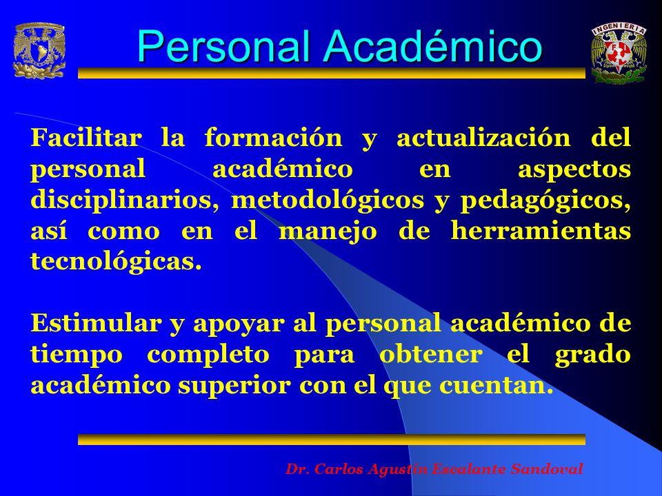 Personal Académico Dr.