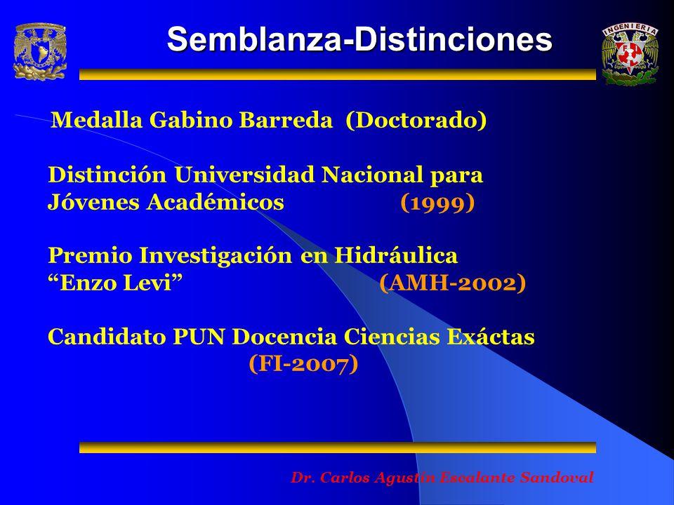 Semblanza-Distinciones Dr.
