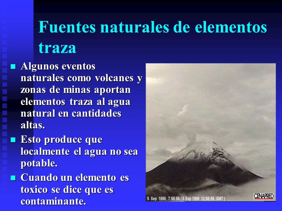 Poder físico y químico del agua El agua tiene un gran poder físico. Las tormentas arrastran miles de toneladas de material. El agua disuelve anualment